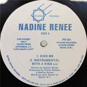 Nadine Renee - Kiss Me MP3