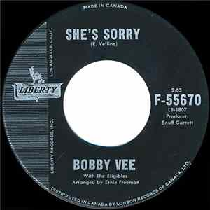 Bobby Vee With The Eligibles - She's Sorry / I'll Make You Mine MP3